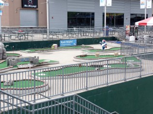 Rockland Boulders mini-golf course